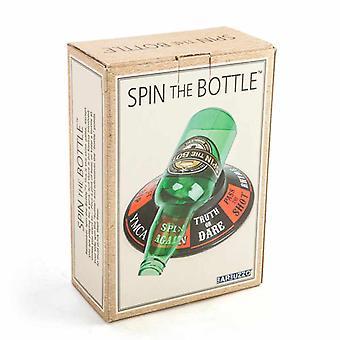 أدرت الزجاجة