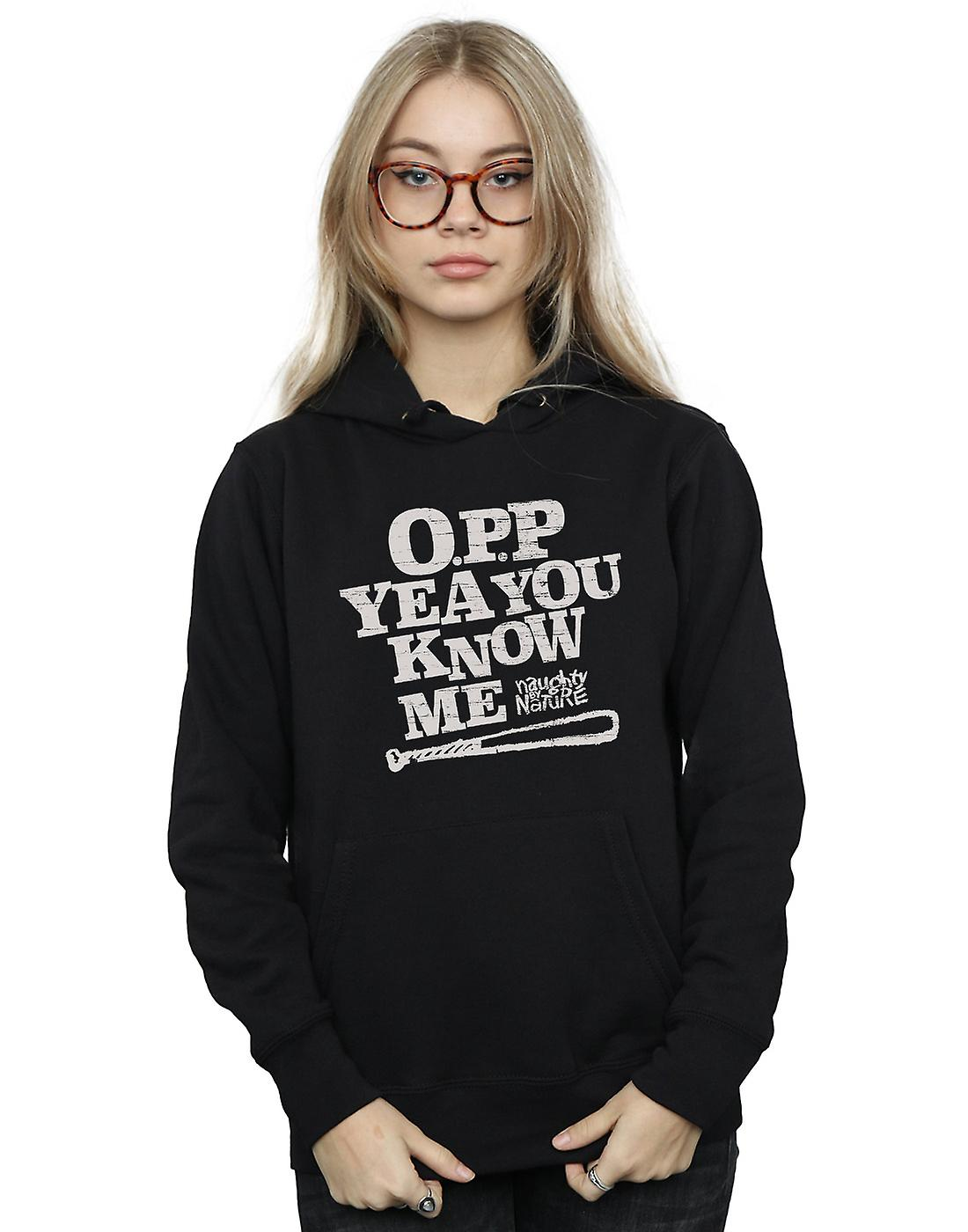 Naughty By Nature Women's Yeah You Know Me Hoodie