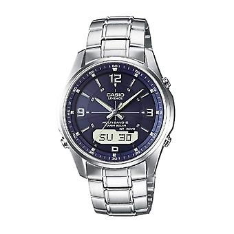 Casio analog digital chronograph quartz mäns Watch massivt rostfritt stål LCW-M100DSE-2AER