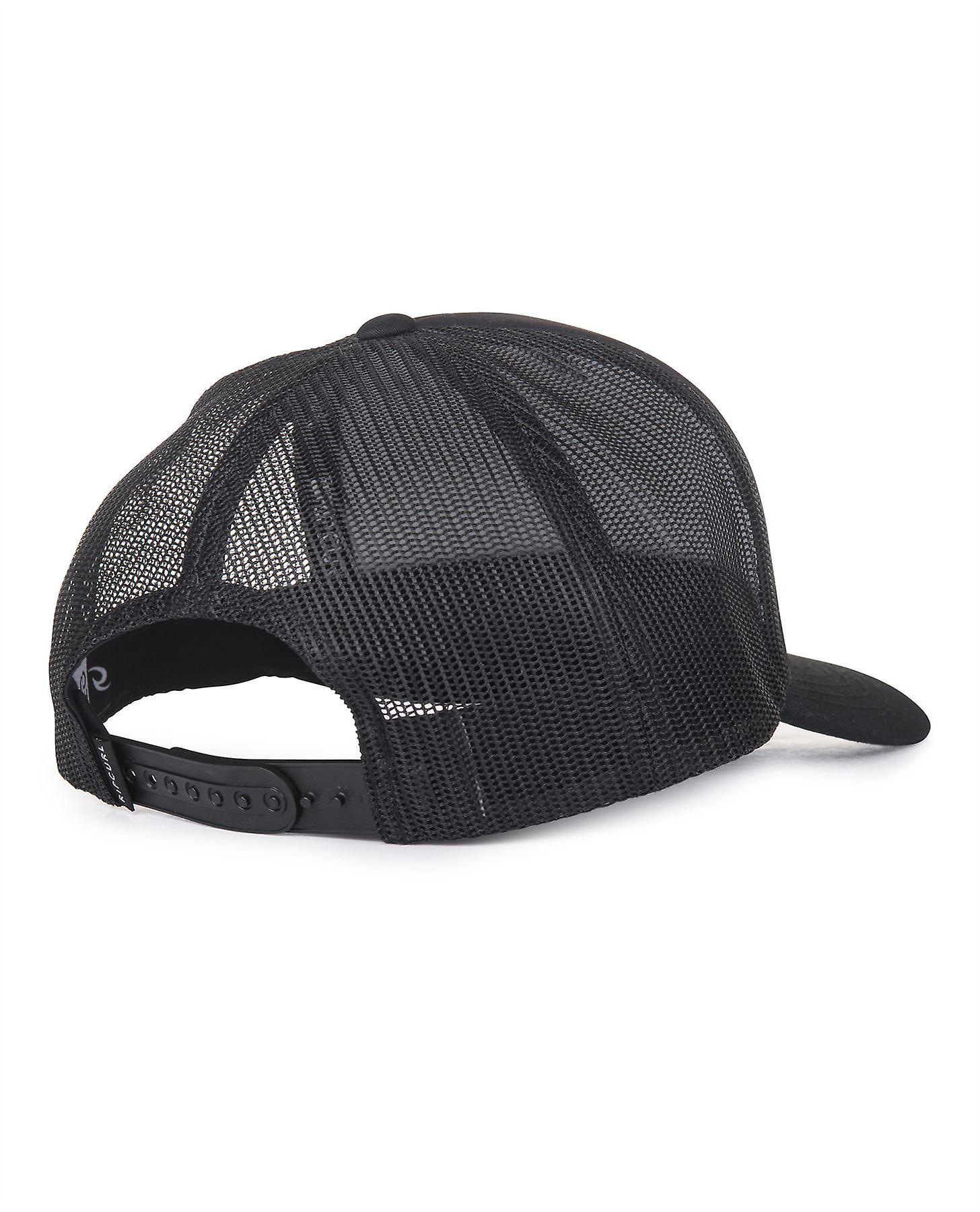 Rip Curl Trucker Snapback Cap ~ Back To The black