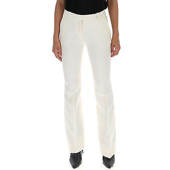 Alexander Mcqueen 308721qlj099014 Women's White Cotton Pants