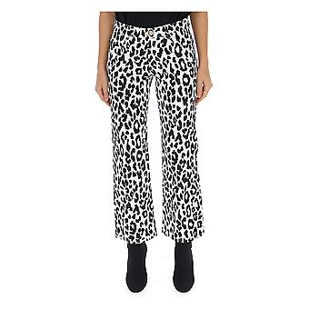 See By Chloé Chs19sdp0216190k Women's White/black Cotton Pants