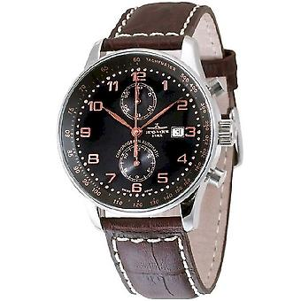 Zeno-watch X-large retro mens watch chronograph Bicompax P557BVD-c1