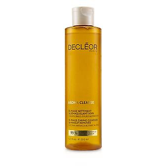 Decleor Aroma Cleanse Bi-phase Caring Cleanser & Makeup Remover - 200ml/6.7oz