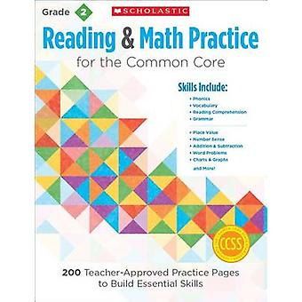 Reading & Math Practice - Grade 2  - 200 Teacher-Approved Practice Pag