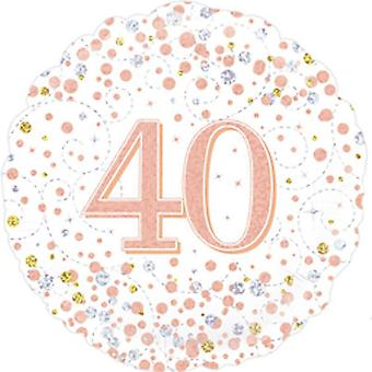 Oaktree 18 Inch Sparkling Fizz Birthday Foil Balloon