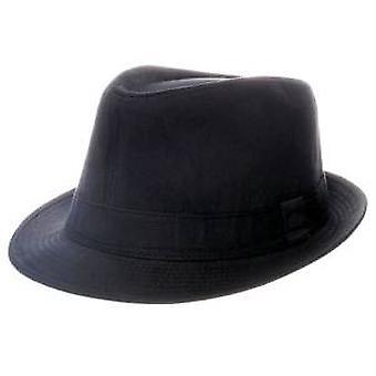 纯黑色棉特里尔比帽子