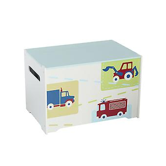Boys Vehicles Toy Box