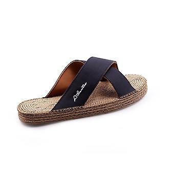 Lazarus black sandals