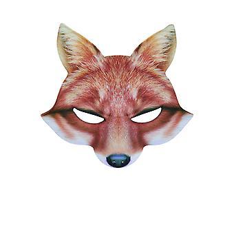 Bristol Novelty Unisex Adults EVA Fox Mask