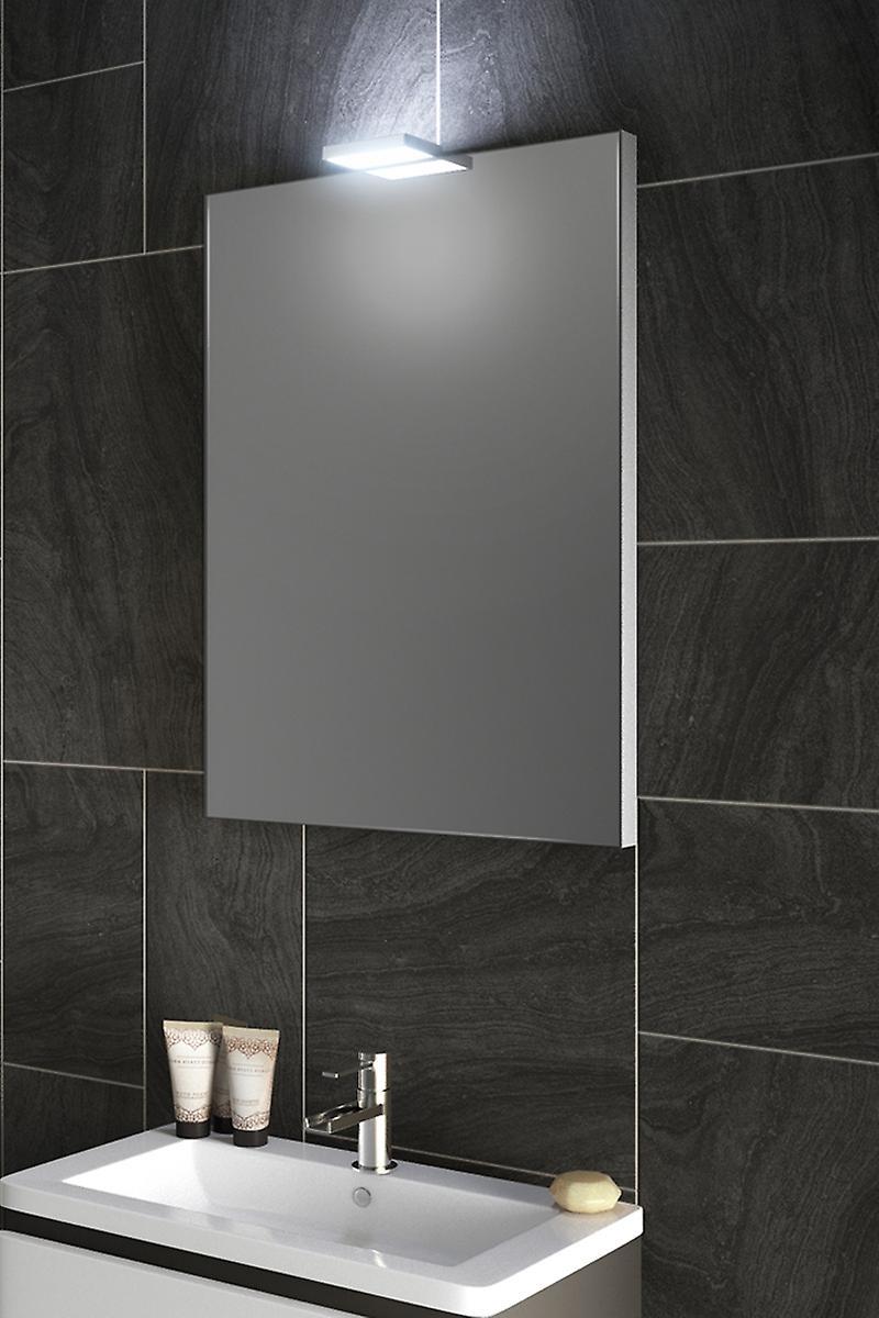 RGB Top Light Mirror with Sensor and Shaver Socket k489rgb