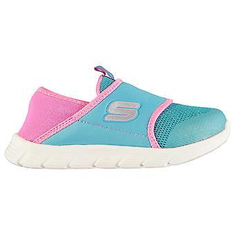 Skechers meisjes comfy Flex schoenen baby slip op trainers Kids