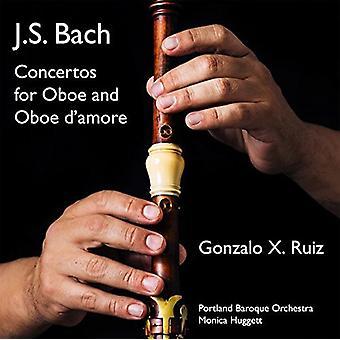Bach, J.S. / Ruiz / Portland Baroque Orch / Huggett - Concertos for Oboe & Oboe D'Amore [CD] USA import