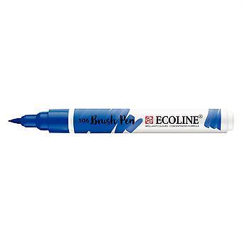 Talens Ecoline Liquid Watercolour Brush Pen - 506 Ultramarine Deep
