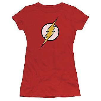 De Flash Classic logo vrouwen ' s rood T-shirt