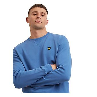 Lyle & Scott Crew Neck Sweatshirt Lapis Blue