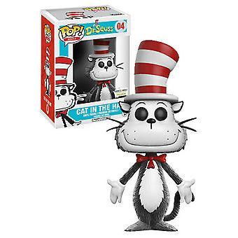 Dr Seuss Cat in the Hat Flocked US Exclusive Pop! Vinyl