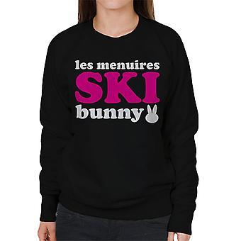 Les Menuires Ski Bunny Women's Sweatshirt