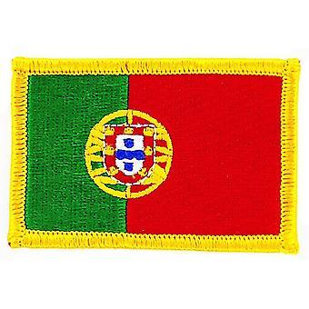 Patch Ecusson Brode Drapeau Portugal Portugais Flag Thermocollant Insigne Blason