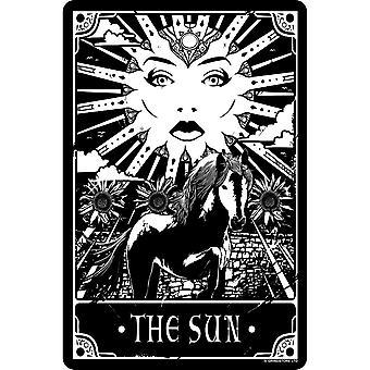 Deadly Tarot The Sun Tin Sign