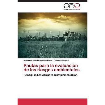 Pautas Para La Evaluacion de Los Riesgos Ambientales by Muschietti Piana Maria Del Pilar