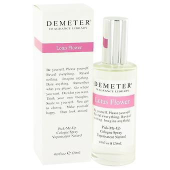 Demeter por Deméter Lotus flor colônia Spray 4 oz/120 ml (mulheres)