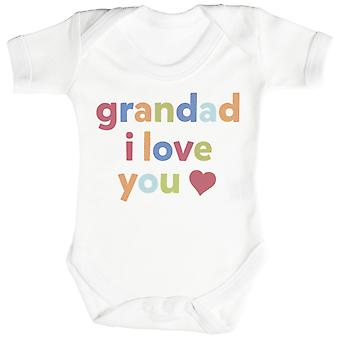 Bestefar, jeg elsker deg Baby Body / Babygrow