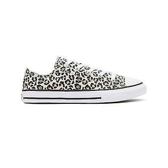 Converse All Star Archive Youth Leopard Ox Trainers