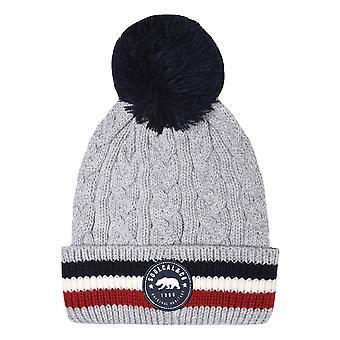 SoulCal Unisex kabel rand vinter hatt