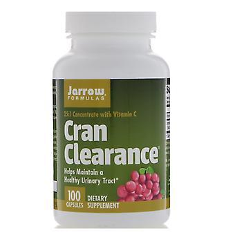 Cran clearance (100 Kapsler)-Jarrow formler