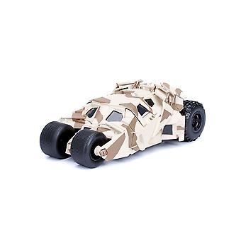 Batmobile Camo versie Diecast Model auto uit Batman The Dark Knight