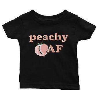 ३६५ प्रिंटिंग आड़ू वायु सेना बेबी ग्राफिक शर्ट उपहार काले शिशु टी गोद भराई उपहार