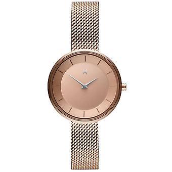 MVMT D-FB01-RGS Watch - Milanese Gold Rose Women's Watch