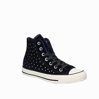 Converse CTAS Hi Women's Zapatillas de Moda clipse/Negro/Turtledove Tamaño 8.5 M