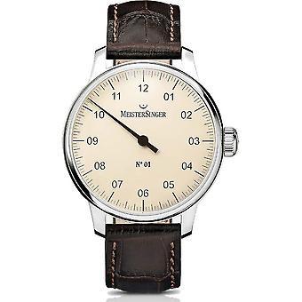 MeisterSinger Women's Watch Classic N -01 - 40mm Manuel Winding DM303_SG02