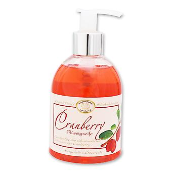 Florex Sabonete Líquido - Cranberry - em dispensador com doce e azedo fragrância mágica de cranberry 250 ml