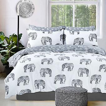 Elephant Grey Bedding Set