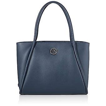 أرماني تبادل حقيبة التسوق الصغيرة - حقائب حمل المرأة الزرقاء (الأزرق) 10x10x10 سم (W x H L)