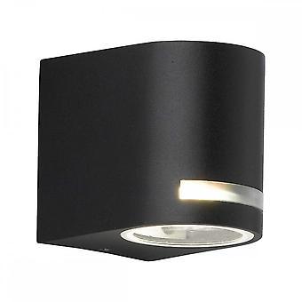 WOFI Panamá Modern Outdoor Wall Light in Black Finish Ip44 4002.01.10.7000