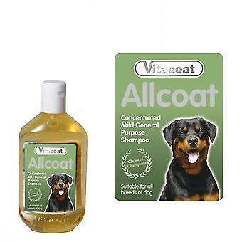 Vitacoat Shampoo Concentrate Allcoat Garrafa 5L (Dogs , Grooming & Wellbeing , Shampoos)