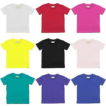 Larkwood Baby/Childrens Crew Neck T-Shirt / Schoolwear