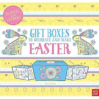 Gift Boxes to Decorate and� Make: Easter