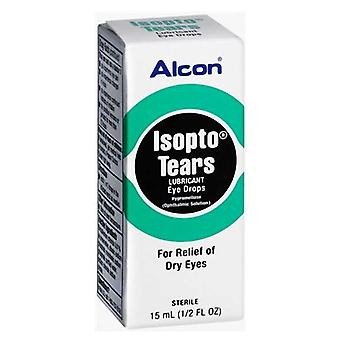Alcon isopto tears lubricant eye drops, for relief of dry eyes, 15 ml
