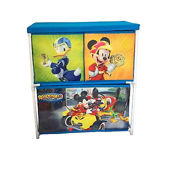 Metalen Mickey Mouse toy store plat