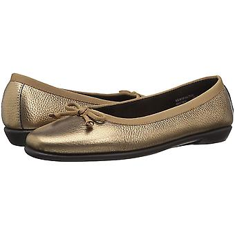 Aerosoles Womens Fast Bet Leather Closed Toe Ballet Flats