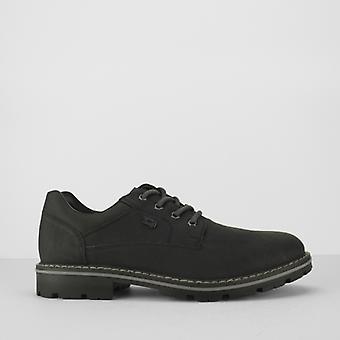 Rieker 14020-01 Mens Lace Up Derby Black