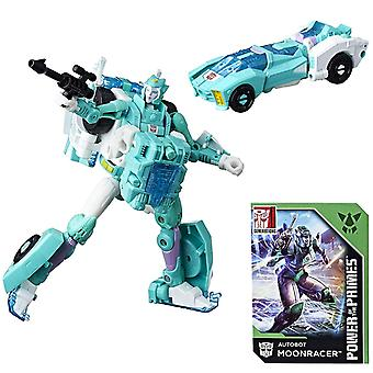 Transformers Power of the Primes Deluxe Class Autobot Moonracer Action Figure