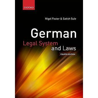 Tysk retssystem og love af Nigel Foster