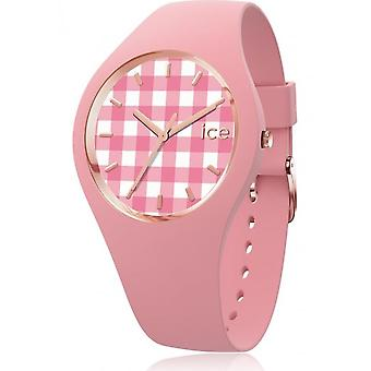 Ice Watch - Armbanduhr - Unisex - ICE change - Vichy pink - Small - 3H - 016053