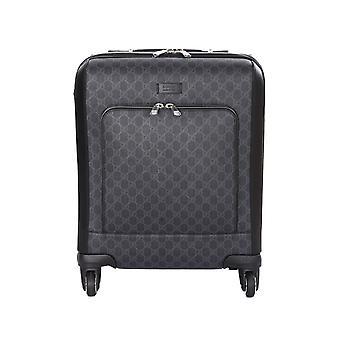Gucci 474353k5rmn1000 Men's Black Fabric Trolley